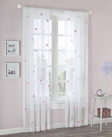 """Mi Zone Lily 52"""" x 63"""" Sheer Window Panel"""
