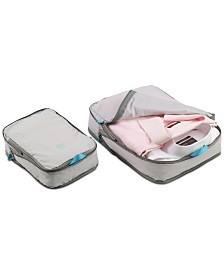 Go Travel 2-Pc. Zip Cube Set