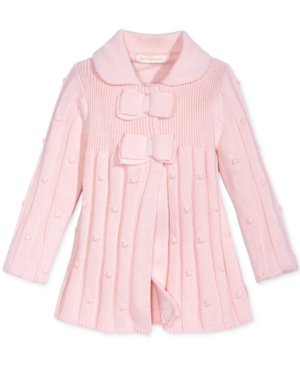 First Impressions BowDetail Sweater Coat Baby Girls (024 months) Created for Macys