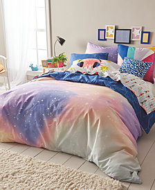 Scribble Reversible 3-Pc. Twilight Full/Queen Duvet Cover Mini Set