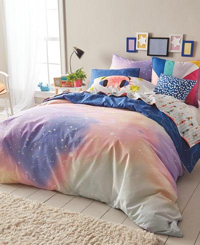Scribble Reversible 3-Pc. Twilight Full/Queen Comforter Mini Set