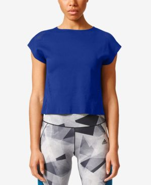 adidas ClimaCool Cropped T-Shirt