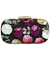 INC International Concepts Evie Floral Mini Clutch, Created for Macy's