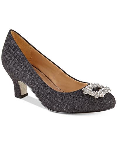 Badgley Mischka Milah Buckle Dress Shoes, Little & Big Girls