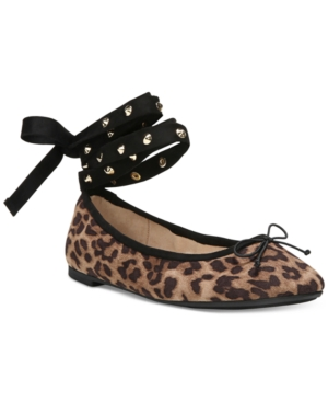 Circus by Sam Edelman Celyn Lace-Up Ballet Flats Women