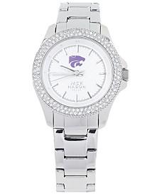 Jack Mason Women's Kansas State Wildcats Glitz Sport Bracelet Watch