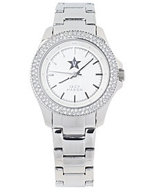 Jack Mason Women's Vanderbilt Commodores Glitz Sport Bracelet Watch