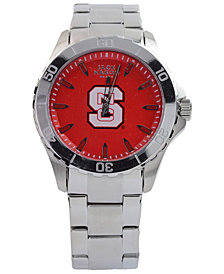 Jack Mason Men's North Carolina State Wolfpack Color Sport Bracelet Watch