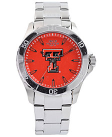 Jack Mason Men's Texas Tech Red Raiders Color Sport Bracelet Watch