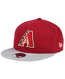 New Era Boys' Arizona Diamondbacks Heather Vize 9FIFTY Snapback Cap