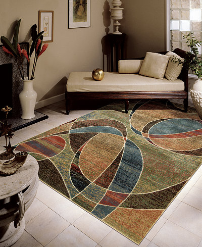 CLOSEOUT! Nourison Rugs, Expressions XP07 Multi