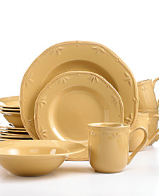 Thomson Pottery Sicily Caramel 16-Pc. Set, Service for 4