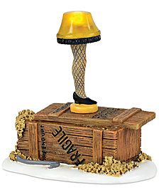 Department 56 A Christmas Story Village Lit Leg Lamp