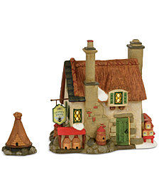 Department 56 Dicken's Village Set of 2 Comb's Honey Cottage