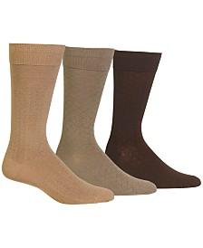 Ralph Lauren Polo Ralph Lauren 3 Pack Patterned Dress Men's Socks