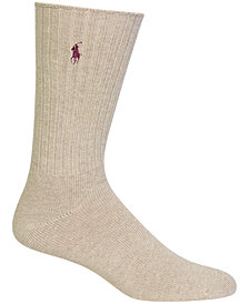 Polo Ralph Lauren Men's Socks, Big & Tall Singles Men's Socks
