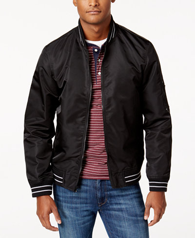 American Rag Men's Varsity Bomber Jacket, Created for Macy's