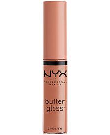 NYX Professional Makeup Butter Lip Gloss. 0.27 fl oz