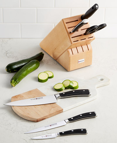 Wüsthof Classic Ikon 7 Piece Knife Block Set