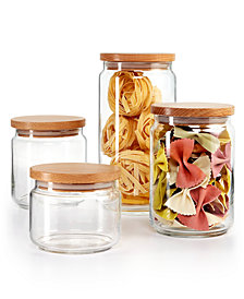 Martha Stewart Collection 4-Pc. Canister Set, Created for Macy's