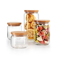 Martha Stewart Collection 4-Pc. Canister Set
