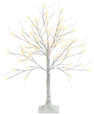 3-Ft. Decorative LED Birch Tree