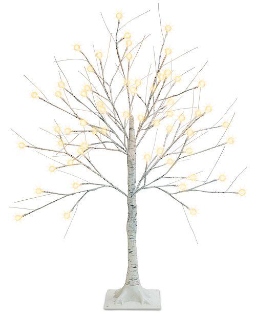 Mr. Christmas 3-Ft. Decorative LED Birch Tree