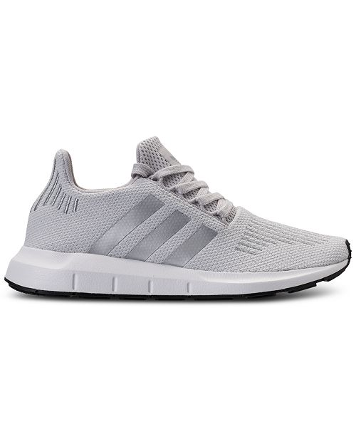 c90f14743 adidas Women s Swift Run Casual Sneakers from Finish Line   Reviews ...