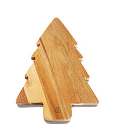 Martha Stewart Collection Holiday Tree Cutting Board, Created for Macy's
