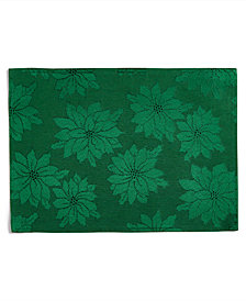 Bardwil Winter Joy Green Placemat