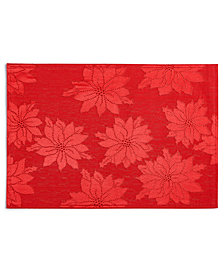 Bardwil Winter Joy Red Placemat