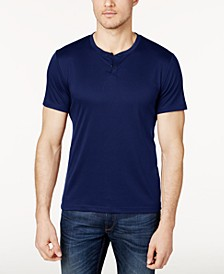 Men's Soft Touch Stretch Henley, Created for Macy's