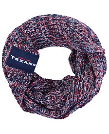 Forever Collectibles Houston Texans Peak Infinity Scarf