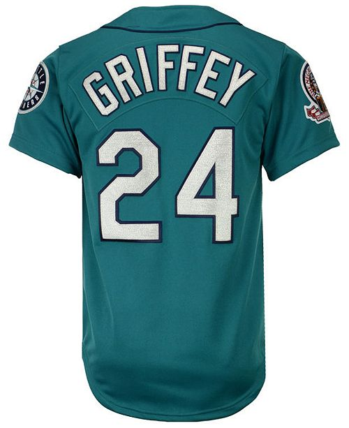 wholesale dealer 5ced3 2a1e9 Men's Ken Griffey Jr. Seattle Mariners Authentic Jersey