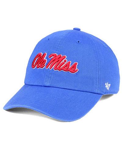 '47 Brand Ole Miss Rebels CLEAN UP Cap