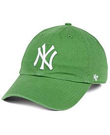 '47 Brand New York Yankees Fatigue Green CLEAN UP Cap