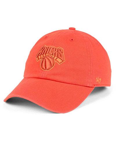'47 Brand New York Knicks Triple Rush CLEAN UP Cap