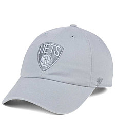 '47 Brand Brooklyn Nets Triple Rush CLEAN UP Cap