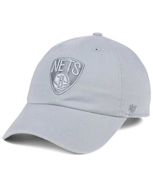'47 Brand Brooklyn Nets Triple Rush CLEAN UP Cap