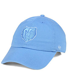 '47 Brand Memphis Grizzlies Triple Rush CLEAN UP Cap