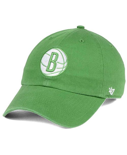 '47 Brand Brooklyn Nets Pastel Rush CLEAN UP Cap