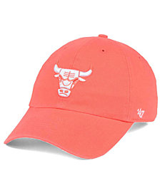 '47 Brand Chicago Bulls Pastel Rush CLEAN UP Cap