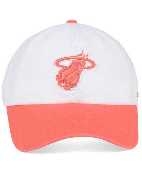 brand new 05d4c f1a93 ... free shipping 47 brand miami heat pastel rush clean up cap sports fan  shop by lids