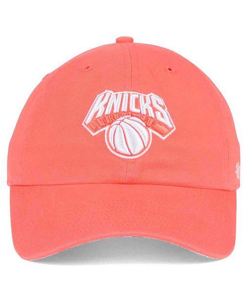 best service d67d6 4f287  47 Brand New York Knicks Pastel Rush CLEAN UP Cap - Sports Fan Shop By  Lids - Men - Macy s