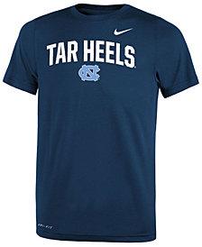Nike North Carolina Tar Heels Legend Primary Logo T-Shirt, Big Boys (8-20)