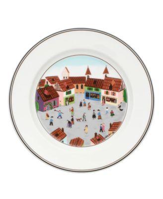 Dinnerware, Design Naif Salad Plate Old Village Square