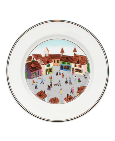 Villeroy & Boch Dinnerware, Design Naif Salad Plate Old Village Square