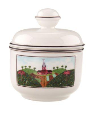 Dinnerware, Design Naif Covered Sugar Bowl