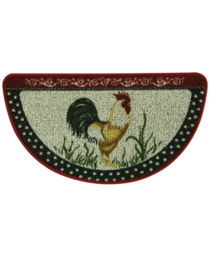 Bacova Cocka Doodle Doo 18 x 315 Berber Slice Kitchen Rug Bedding