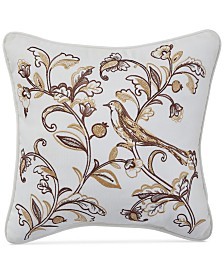 "Croscill Kassandra 16"" Square Decorative Pillow"